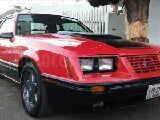 Foto 1984 Ford Mustang Hard Top