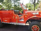 Photo 1958 Dodge Power Wagon Fire Truck