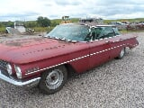 Photo 1960 oldsmobile super 88 4 door hardtop (flat top)