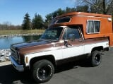 Photo 1978 Chevrolet Blazer Chalet Vintage Camper NO...