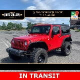 Photo 2014 Jeep Wrangler Sport, Flame Red Clearcoat...