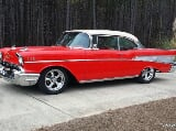 Photo 1957 Chevrolet Bel Air150210 Sport Coupe