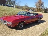 Photo 1969 Pontiac Firebird Convertible Red