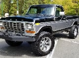 Photo 1978 Ford F-250 4x4 Ranger XLT