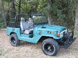 Photo 1974 Toyota Land Cruiser FJ40 Convertible Restored