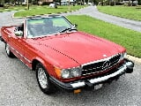 Photo 1983 Mercedes-Benz 300-Series Convertible 4079...