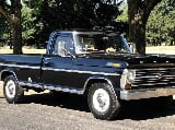 Photo 1968 ford f-250 xlt ranger pickup truck