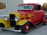 Photo 1932 Ford Model B 3 window coupe all steel