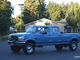Photo RARE 5-SPEED MANUAL-1995 Ford F350 XL