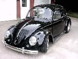 Photo 1966 volkswagen bug pro v8 power rocket ship
