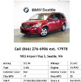 Photo 2011 Volkswagen Routan SE Red Mini-Van V6