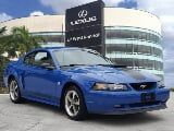 Photo 2004 Ford Mustang 2dr Cpe Premium Mach 1 BLUE...