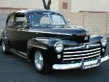 Photo 1948 ford sedan 7061 miles all steel rust free