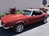 Photo 1968 Chevrolet Camaro Convertible Auto