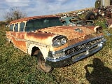 Photo 1958 ford country squire station wagon body