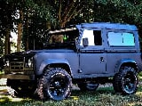 Photo 1985 Land Rover Defender Cloth Classic Matte Black