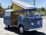 Photo 1970 Volkswagen Bus Westfalia Pop Top Camper