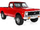 Photo 1972 Chevrolet Pickup 4x4 Awesome Show Truck