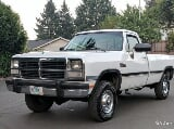 Photo Very rare-1991 dodge w250 le regular cab 4x4
