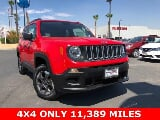 Photo Used Jeep Renegade 2018 Omaha Orange, 11.4K miles