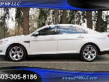 Photo 2010 Ford Taurus SHO, White Platinum Metallic...