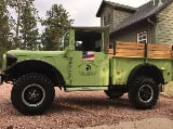 Photo 1962 Dodge M37 Power Wagon Flathead 230 with...