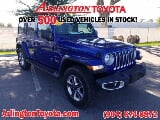 Photo 2020 Jeep Wrangler Unlimited Sahara, Ocean Blue...