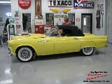 Photo 1955 ford thunderbird yellow v8 3 speed 2 owner