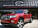 Photo 2012 Jeep Grand Cherokee Overland, Red in...
