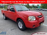 Photo 2004 Nissan Frontier Standard, Red Brawn...