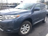 Photo 2012 Toyota Highlander Base, Shoreline Blue...
