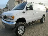 Photo 2001 ford econoline e-350 7.3 turbo diesel van 4x4