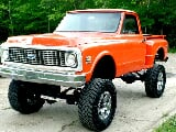 Photo 1971 Chevrolet C-10 Swb Step Side 4x4 Pickup Truck