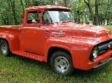 Photo 1956 Ford F-100 Steel Truck Custom