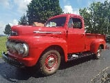Photo 1951 ford f2 pickup truck