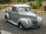 Photo 1940 Ford Pickup Hot Rod Street