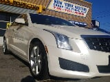 Photo 2013 Cadillac ATS 2.5L, White Diamond Tricoat...