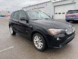 Photo 2016 BMW X3 xDrive28i, Jet Black in Zelienople,...