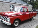 Photo 1964 Ford F-100 Custom Cab Pickup Truck