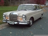 Photo 1966 Mercedes 230S Fintail