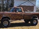 Photo 1976 Ford F-250 Highboy custom super cool truck