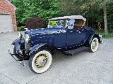Photo 1932 ford deluxe v-8 roadster with rumble seat