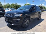 Photo 2017 Jeep Compass Latitude 4x4, Diamond Black...