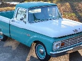 Photo 1964 Ford F-100 1/2 ton Custom Cab style-side...