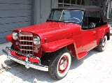 Photo 1950 willys jeepster