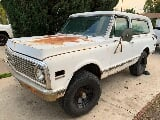 Photo 1972 chevrolet k5 blazer cst