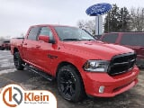 Photo 2018 RAM 1500 Sport NIGHT EDITION, Flame Red...