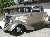 Photo 1934 Ford 5-Windows All Steel Henry Ford Coupe...