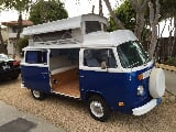 Photo 1974 Volkswagen Bus/Vanagon Riviera Blue / White