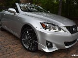 Photo 2013 lexus is hard top convertible f-sport edition